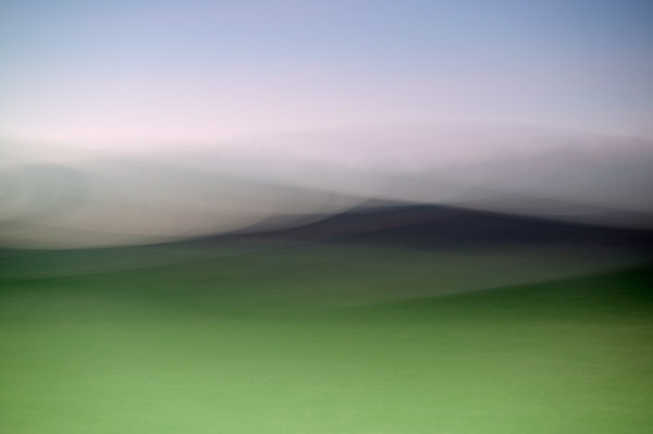 This makes the work of Scottish photography duo (and husband-and-wife team) Ted Leeming and Morag Paterson quite refreshing. Primarily landscape photographers, their three Impressions Series (I, II and III) are beautiful washes of color with just a whisper of a hill, a tree, or a horizon line. The abstract blocks of color create such soft, lovely compositions, but each still evokes its own kind of energy.  - Anthology Magazine