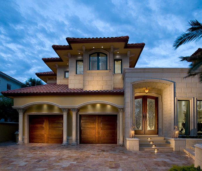 Exterior Pictures Of Mediterranean Style Homes Cities: Mediterranean Tuscan Home/House