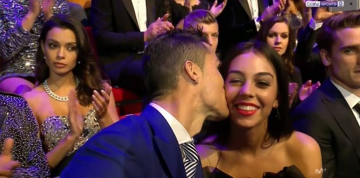 Cristiano Ronaldo shows off his girlfriend for the first time!