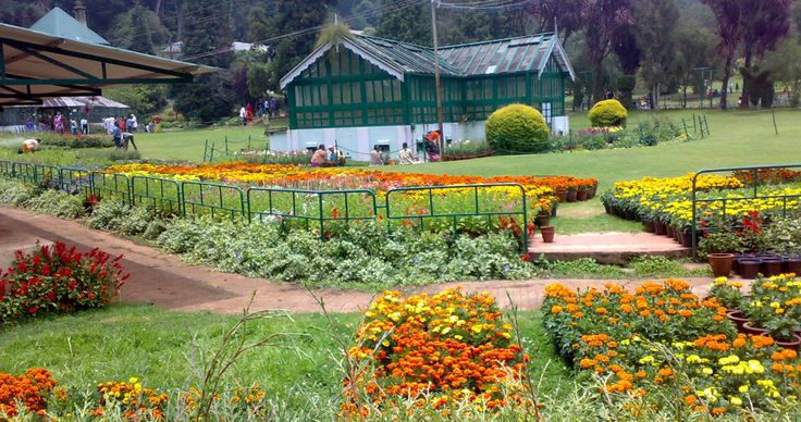 Ooty, is a town, a municipality, and the district capital of the Nilgiris district in the Indian state of Tamil Nadu. It is located 80 km north of Coimbatore.