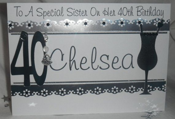 Handmade personalised 21st 18th 30th 40th by JansCardsAndCrafts