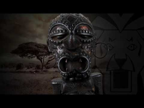 Songye Holzfigur Afrika 70cm - YouTube
