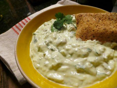 Greek Yogurt Recipes: Spicy Avocado & Greek Yogurt by Chef Maria Loi