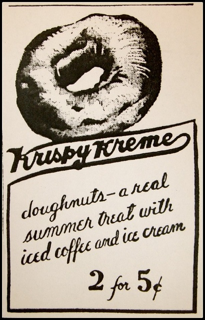 krispy kreme marketing and advertising Social listening technology is a useful weapon in the marketer's arsenal kelley o'brien, director of social media at krispy kreme, spoke to emarketer about how the doughnut brand uses.