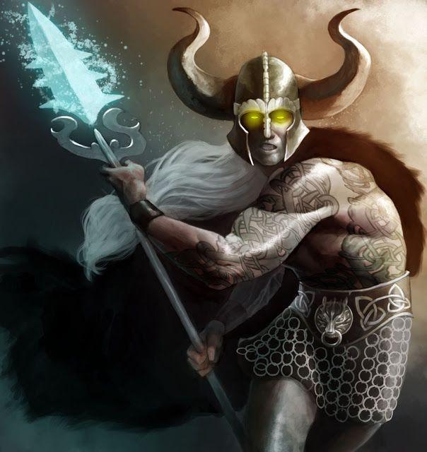 Lugh, deus celta da luz e do sol