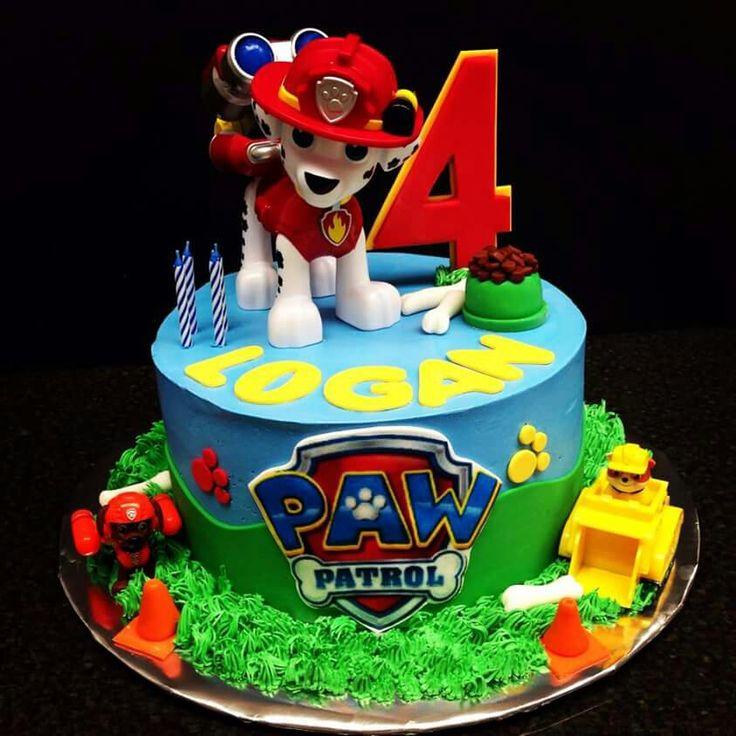 Pita1280 Children S Birthday Cakes Paw Patrol Cake