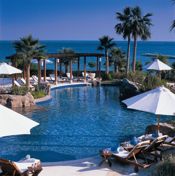 Summer days are best spent poolside at The Ritz-Carlton, Doha.