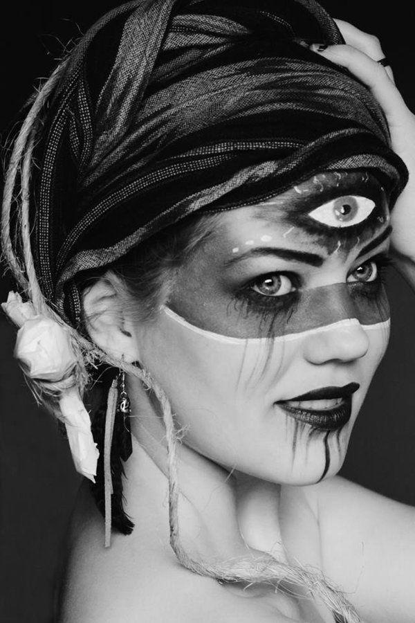 Voodoo makeup                                                                                                                                                     More