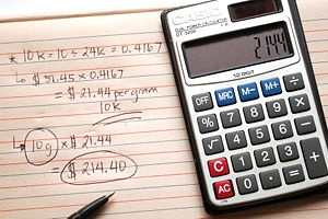 Calculate the Value of Scrap Gold
