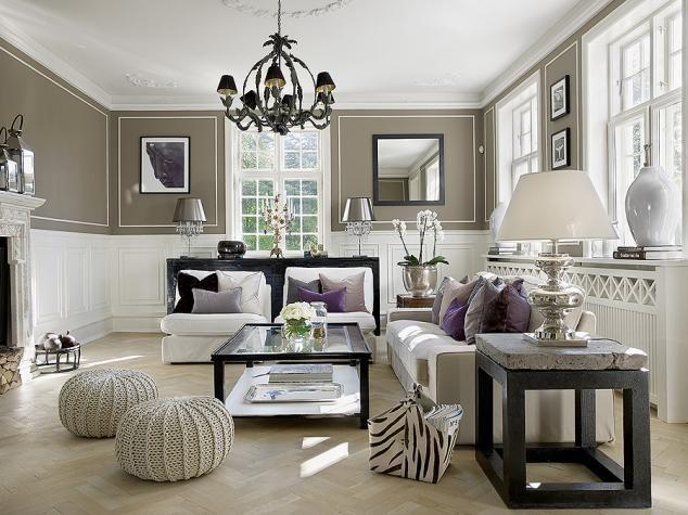 Exceptional Skandynawski Salon Z Odrobiną Glamour #salon #glamour #livingroom  #luxuryhouse #stylskandynawski