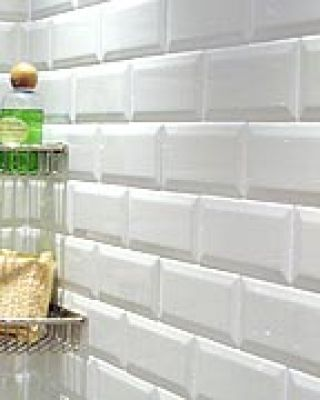 Metro tiles for walls