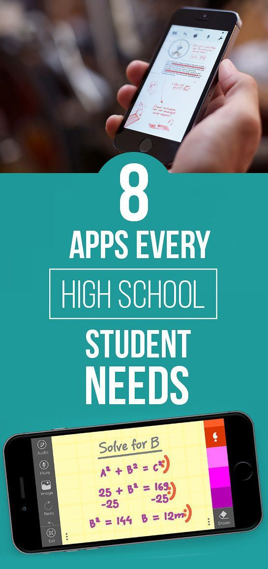 8 Apps Every High School Student Needs