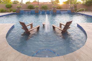 Baja Shelf | Phoenix Landscaping Design & Pool Builders, Remodeling
