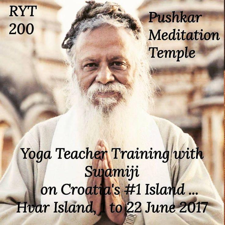 Proud and honored to welcome one of India's most respected yoga teachers here this summer... Yoga Teacher Training - June 01 - 22, 2017  #india #rys #yogattc #ashtangayoga #rajayoga #ttceurope #yoga #ashramlife #mantra #yogaindia #croatia #hvar #yogainspiration #yogaeveryday #yogaeverywhere #yogaeverydamnday #RYT200 #ttc #yogi #mindfulness #yogatraining #yogacroatia #summer #castawayhvar
