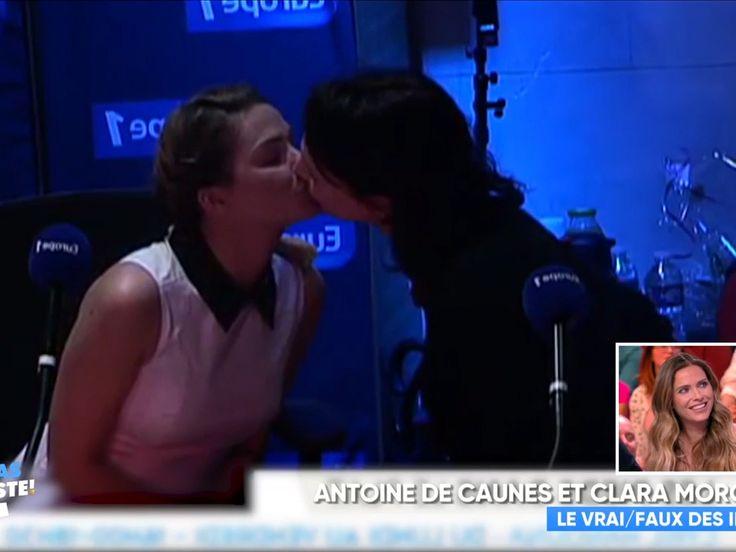 Le long baiser entre Clara Morgane et Géraldine Maillet