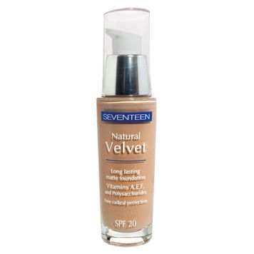 Natural Velvet Longlasting Matte Foundation | Seventeen Cosmetics A new make-up which you will definitely love as it is the ideal starting point to create the most stunning make up looks. #Seventeen #Cosmetics #foundation