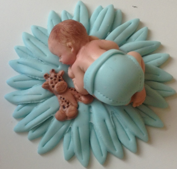 Cake Toppers Baby Shower Boy : 184 best images about Cake - Baby on Pinterest Sleeping ...