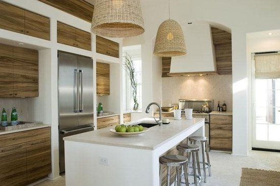 Modern beach house: Kitchen | Home Decorating Ideas