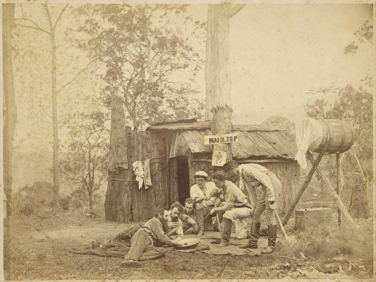 California Bungalow Victoria S Colonial Bungalow Fling: Digging For Gold. Australia. Ca. 1870