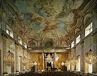 Great Hall of Schloss Ludwigsburg