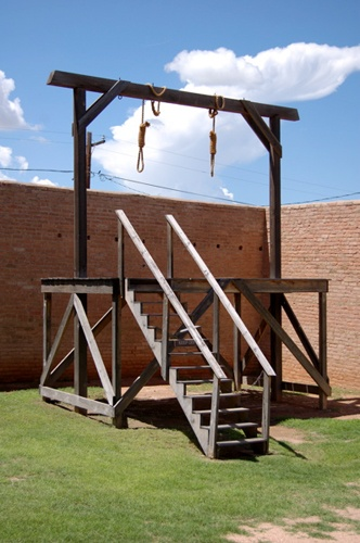 Tombstone Gallows