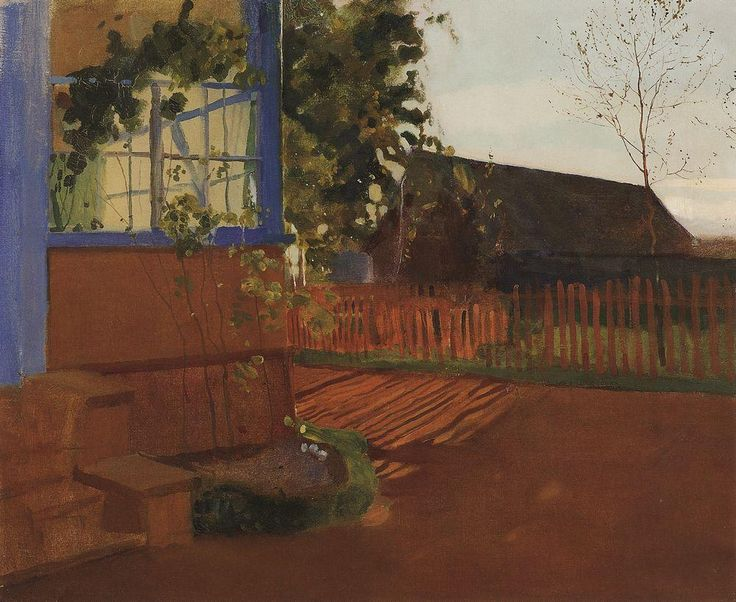 Вечерний пейзаж. 1902 |