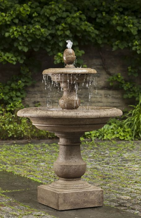 25 best ideas about garden fountains on pinterest diy for Build outdoor rock water fountains