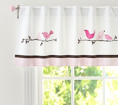 Valances Birds And Pottery Barn Kids On Pinterest