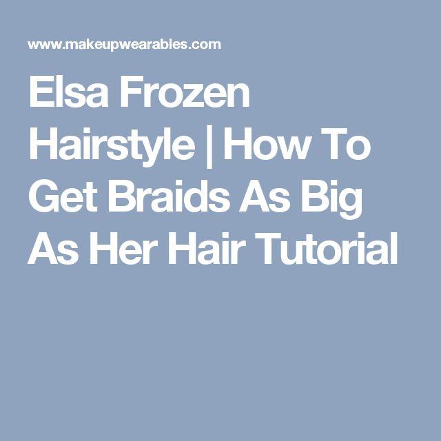 Awe Inspiring 25 Best Ideas About Frozen Hairstyles On Pinterest Frozen Hair Short Hairstyles Gunalazisus