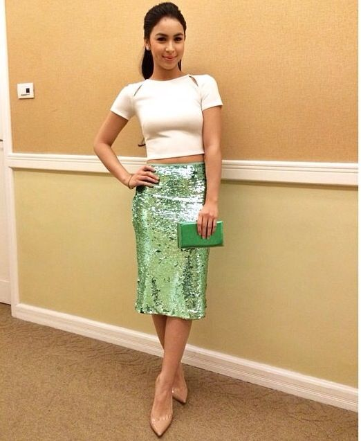 Kathryn bernardo wearing cocktail dress