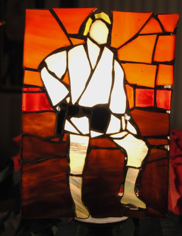star wars stained glass patterns - Google Search