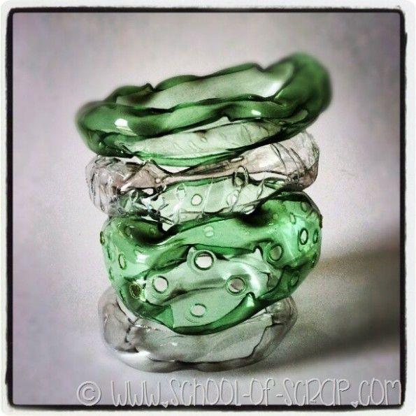 Tutorial braccialetti Gelly Bangles: riciclo la plastica #questavoltaciriesco