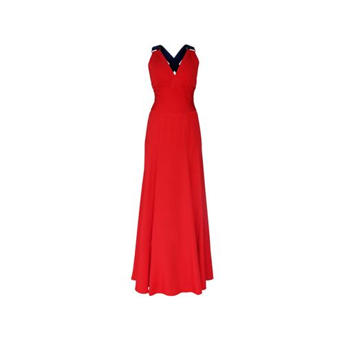 Coral Iconic Evening Dress on TROVEA.COM