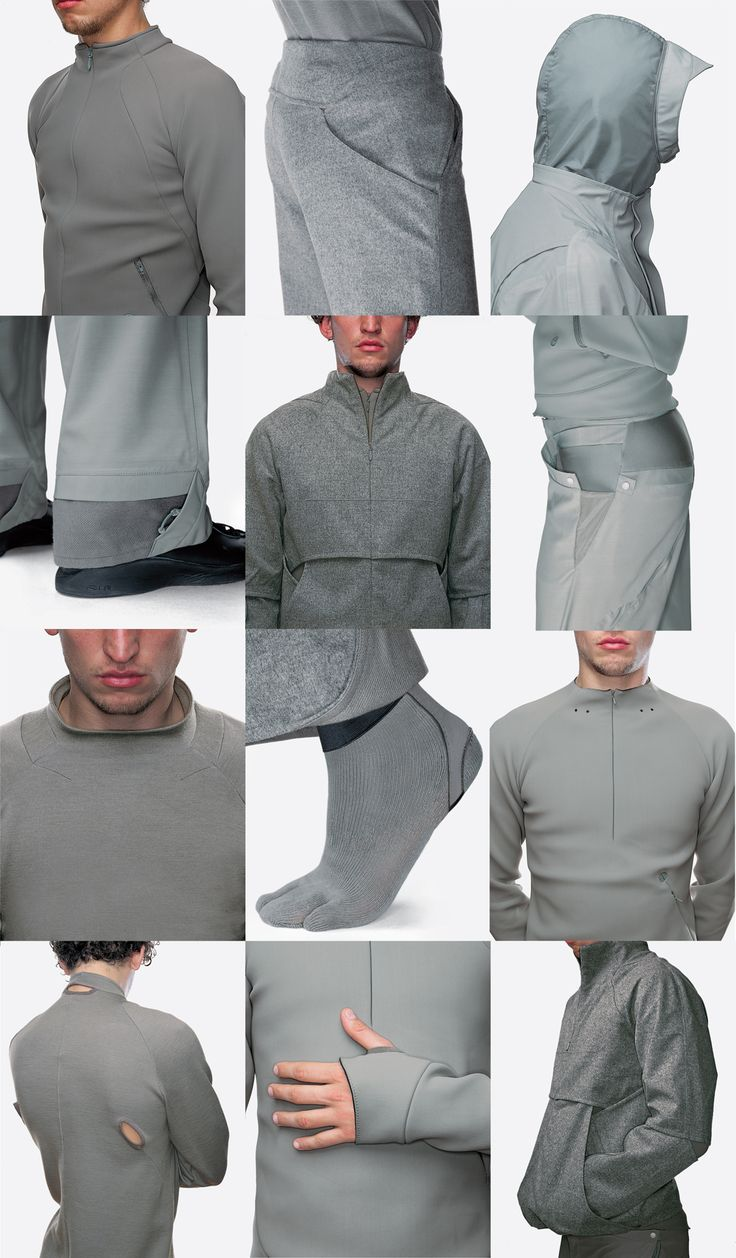 Beautiful examples of fabric, cut and detail | Nike Concepts | Designer Tony Spackman
