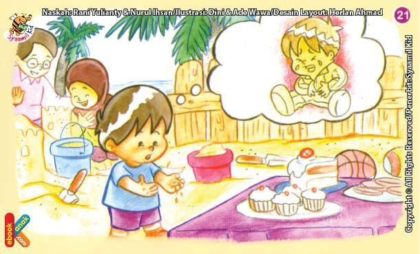 Gambar Vertikalanimasi Anak Cuci Tangan