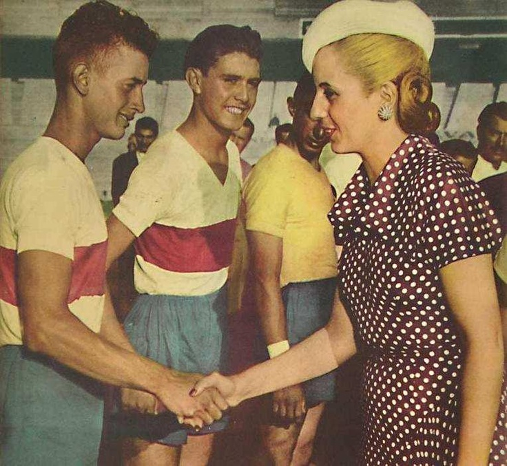 the life and career of eva duarte A few weeks before she died, eva peron rode next to her husband for his second inauguration as president of argentina her cervical cancer, it is said, had rendered her so weak, that she was.