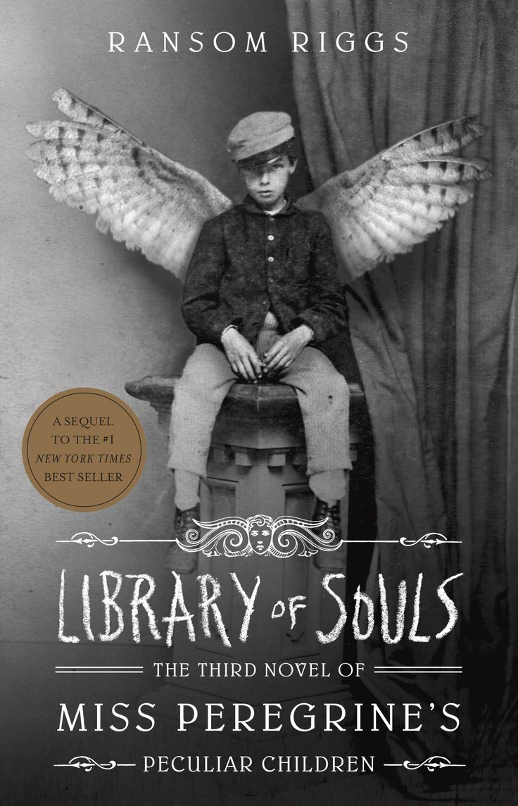 #CoverReveal Library of Souls (Miss Peregrine's Peculiar Children, #3) by Ransom Riggs