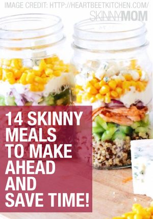 Don't procrastinate! Make-ahead meals.