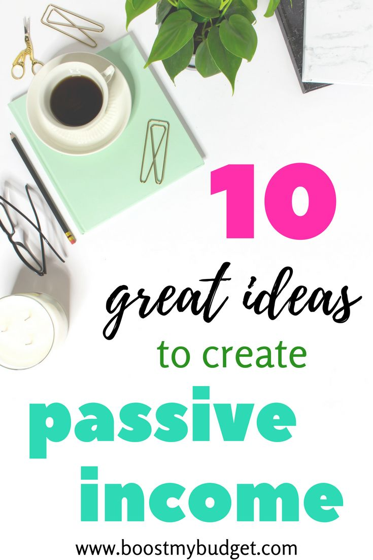 Passive income is the dream! Imagine having money that flows into your bank account, whether you're working, sleeping, resting, on holiday... here are 10 ideas of easy passive income streams to try. Some of these you can start from home today! Be warned, it takes either time or money to start the passive income flowing, but once you build up enough income, you'll be free from your day job forever!