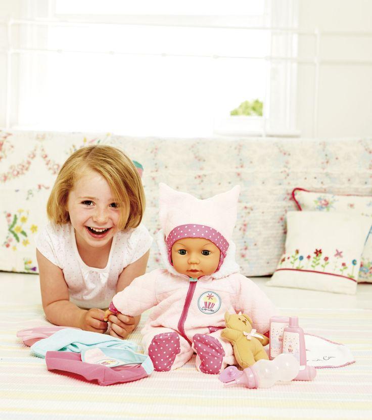 Crying Baby Cupcake Doll