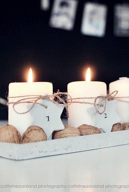 La maison d'Anna G Nous y sommes ! non seulement le 1er décembre mais en plus le premier dimanche de l'Avent. Sortons la...