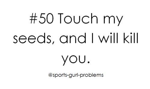 Softball girl problems