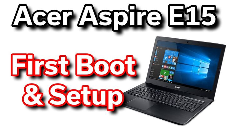 Cool Best $350 Laptop - Acer Aspire E15 - First Boot & System Setup Check more at https://ggmobiletech.com/laptop-deals/best-350-laptop-acer-aspire-e15-first-boot-system-setup/