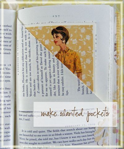Make an altered book.                                                                                                                                                     More
