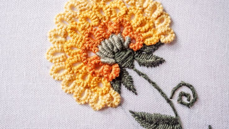 Hand Embroidery   Stitching Tutorial by Hand   HandiWorks #89