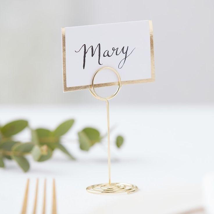 Hochzeit Tischkartenhalter Brautpaar Im Shop