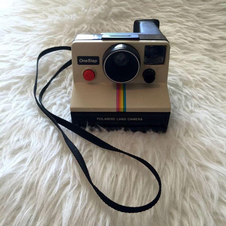 Polaroid One Step Land Camera Vintage 1977 | eBay