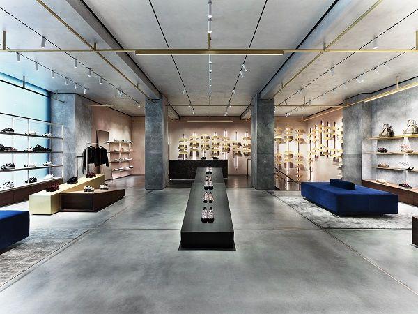 Hogan launches new format luxury footwear store - Retail Design World