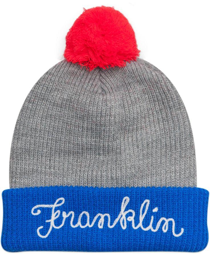 Snuggly hat with pom-pom #FW13