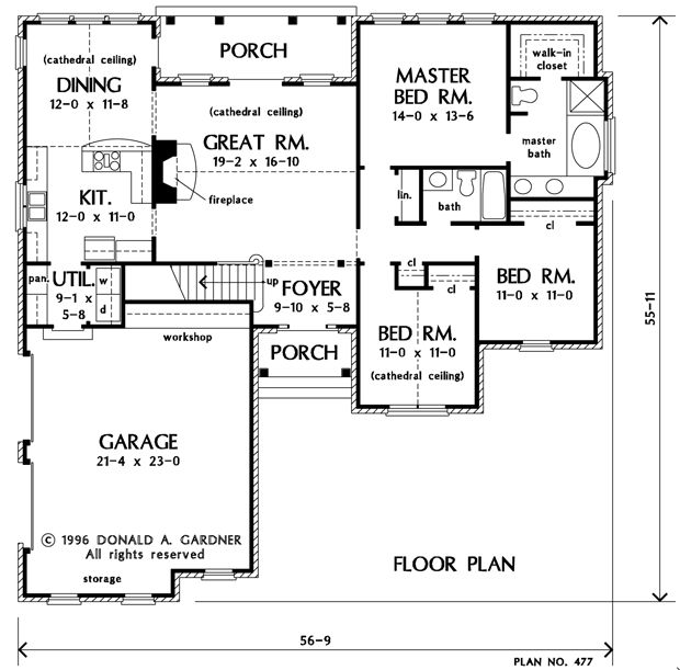 1000 images about floorplans with bedrooms grouped for 1000 sq ft house plans first floor